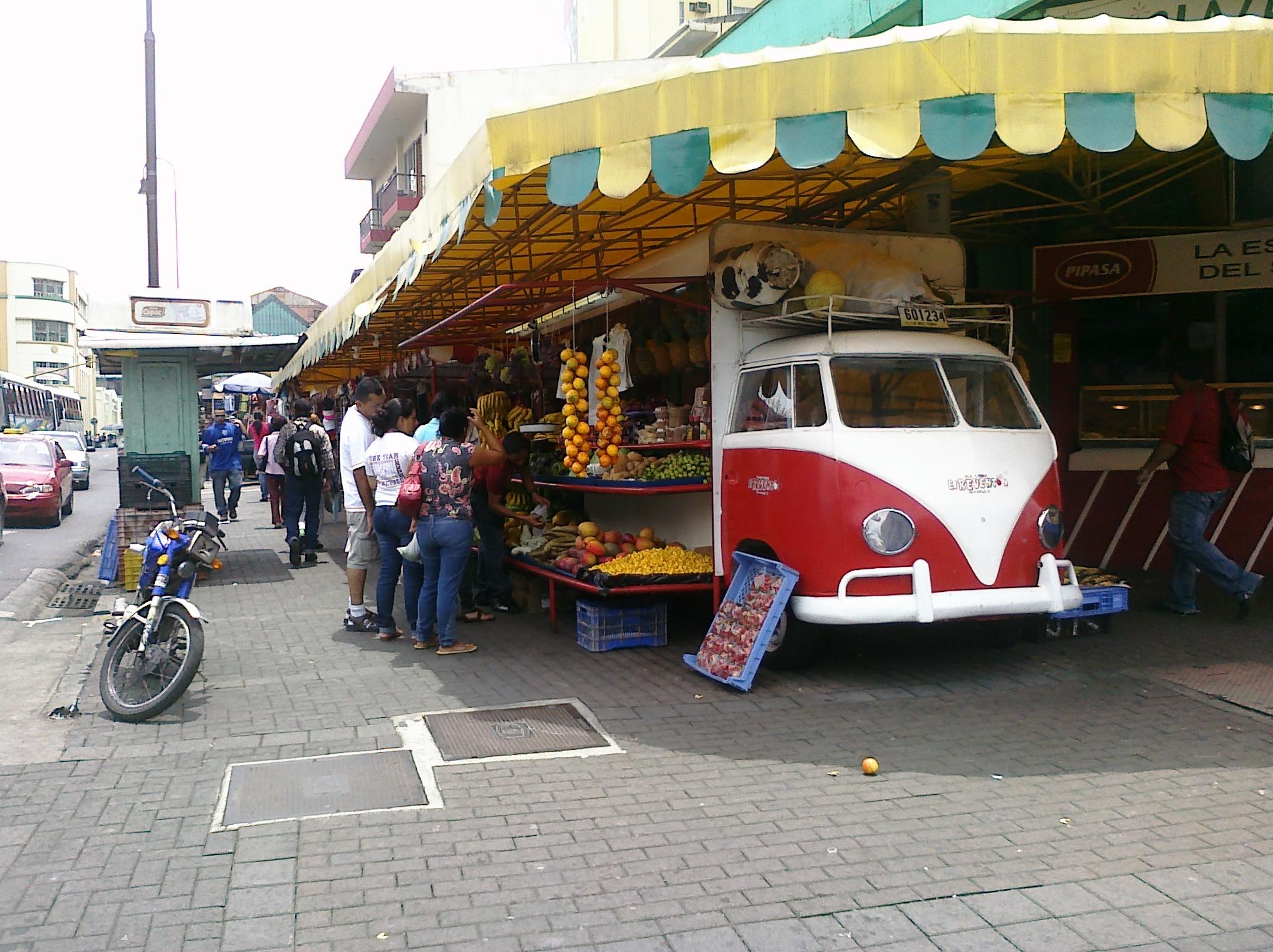 Street Market in San Jose, Costa Rica