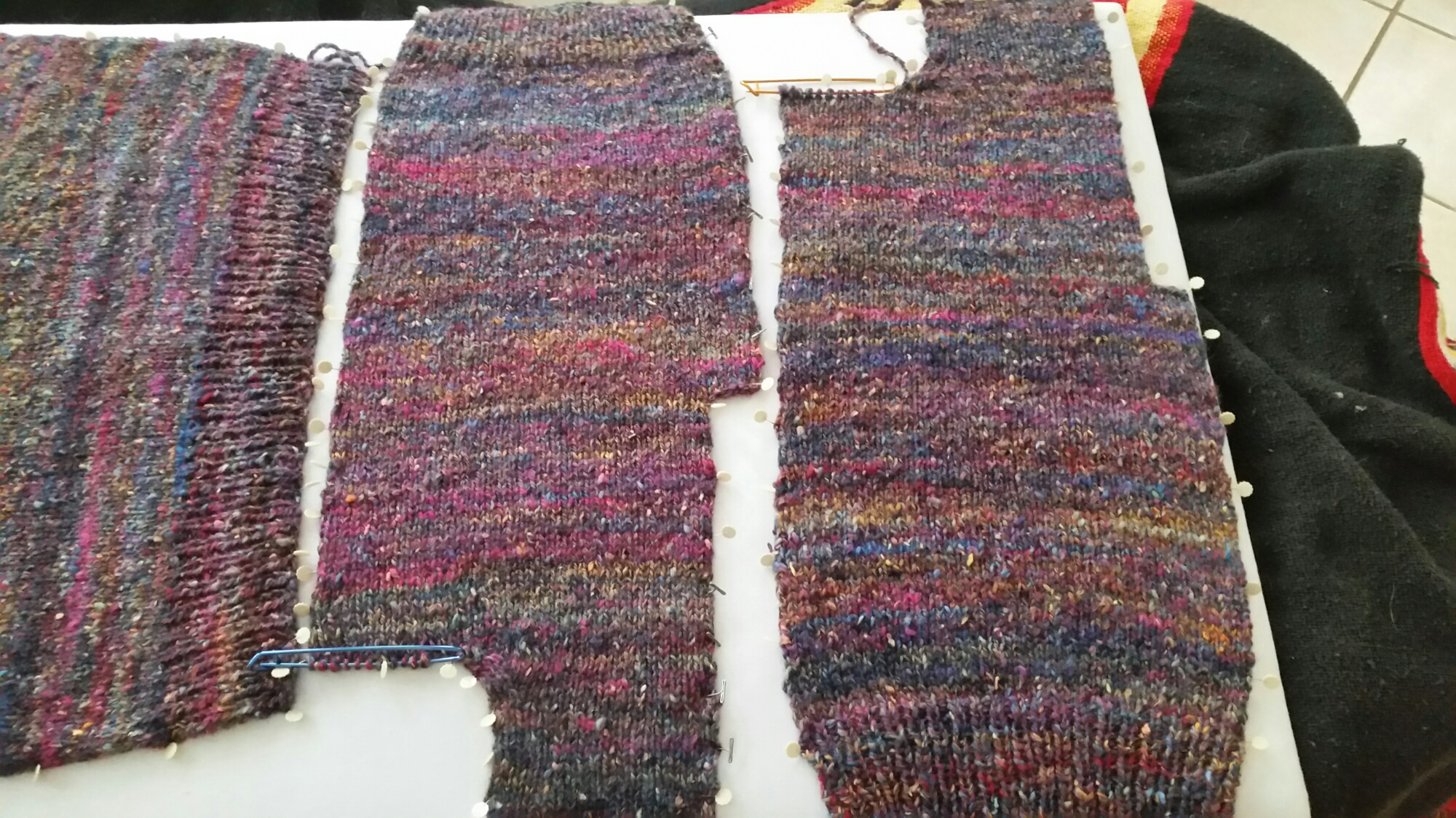 Crosspatch Creations Handspun Sweater Parts