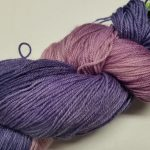 Pandora's Yarn Luxe sock yarn in Lilacs