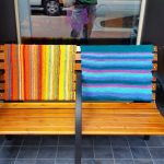 Sweet Cream Bench Back #1