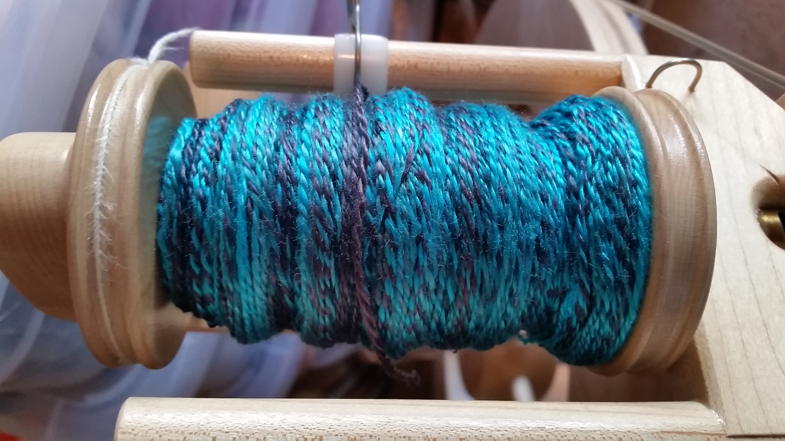 Finished Starry Night Bombyx Silk yarn