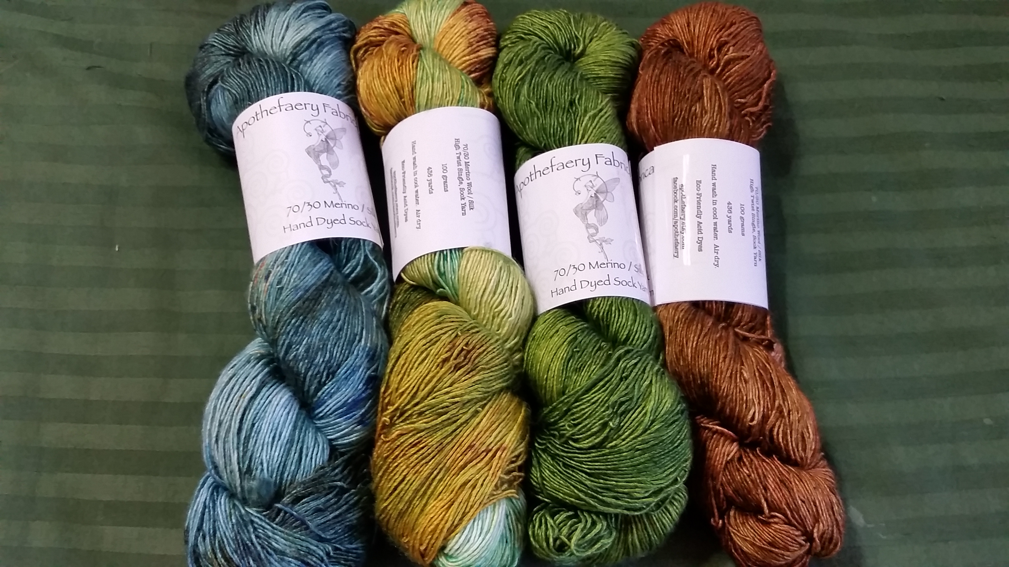 Merino/Silk from Apothefaery Fabrications