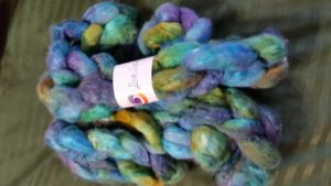 Yak/Silk 50/50 from Lisa Souza Dyeworks