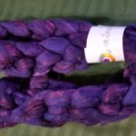 Bombyx Silk/Merino 50/50 from Lisa Souza Dyeworks