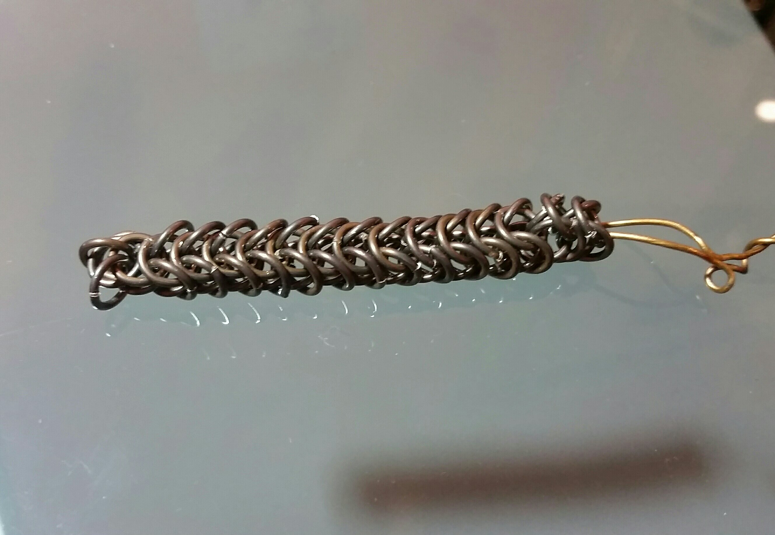Foxtail chain in progress