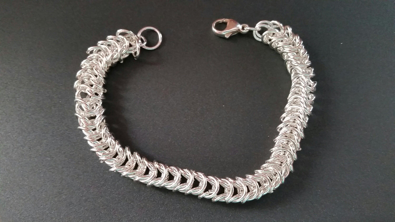 Sterling Silver Foxtail Chain Bracelet