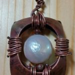 Copper, Mother of Pearl, and Poppy Jasper