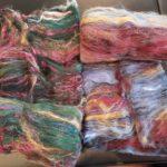 Merino/Eri Silk Batts - Apothefaery Luxury Fibers